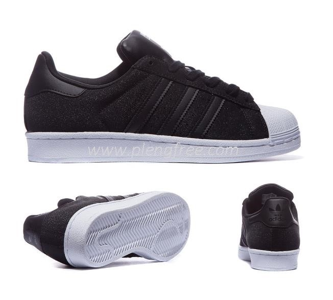 Adidas Superstar Black Sparkle